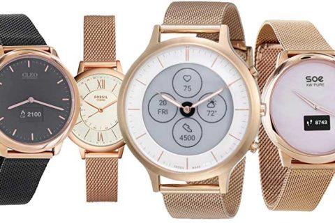 analoge Smartwatch Uhren für Frauen