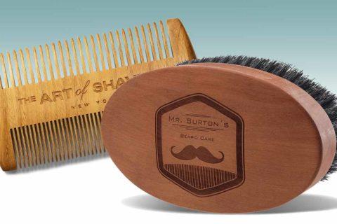 Bartkämme und Bartbürsten