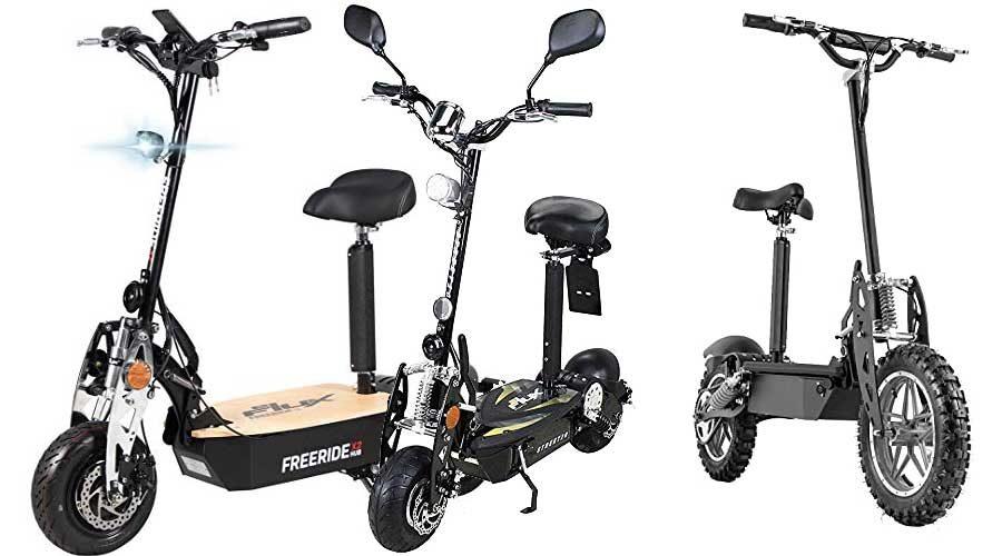 eScooter mit Straßenzulassung