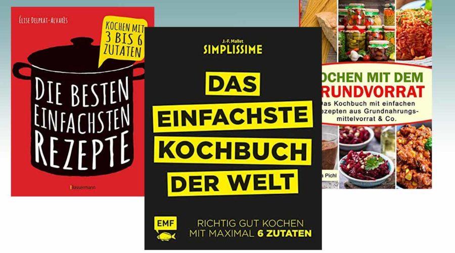 Kochbücher mit einfachen Rezepten