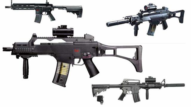 elektrischen Softair Gewehre