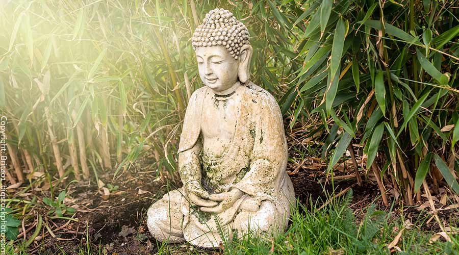 Buddha Figuren für den Garten