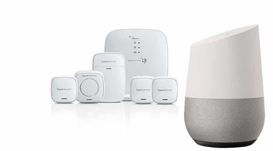 google home alarmanlage