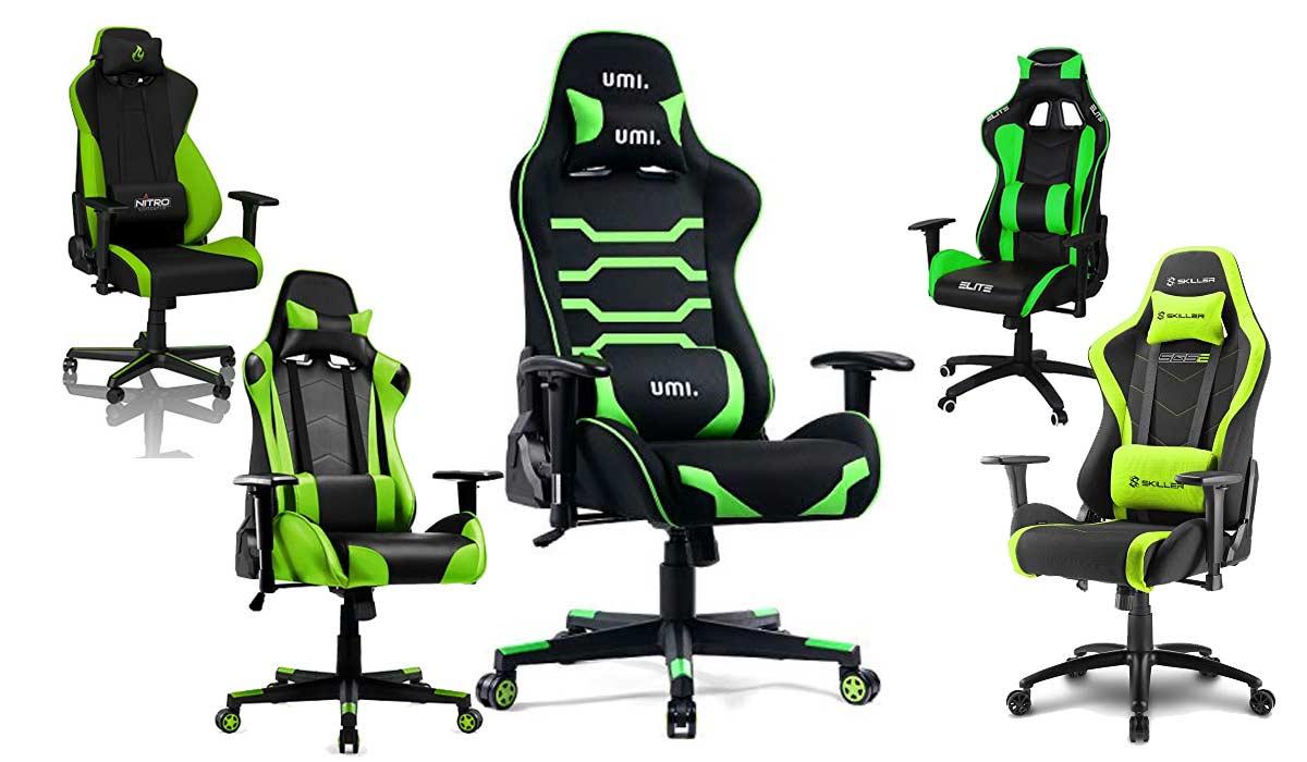 grüne Gaming Stühle