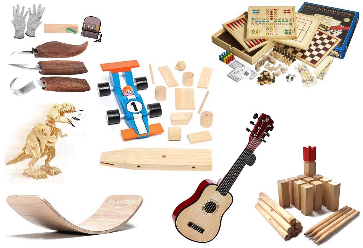 Holzspielsachen für Kinder