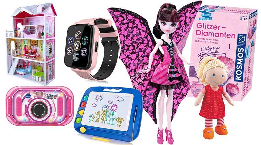 Mädchen Spielzeug und Technik