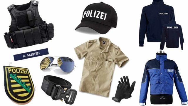polizei Kleidung