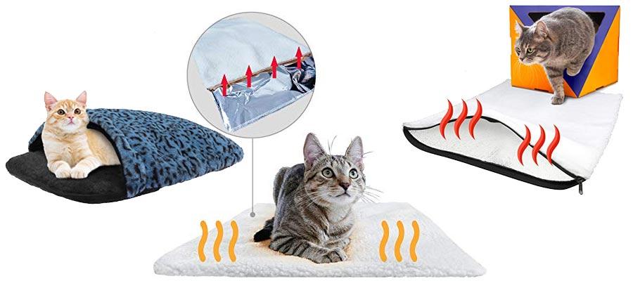 selbstwärmende Katzenbetten