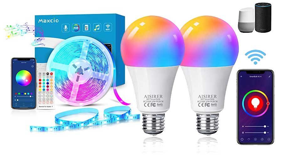 smarte LED Lichtkonzepte