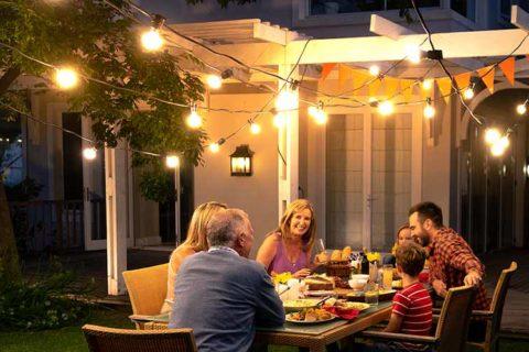 Smart Home Beleuchtung für aussen