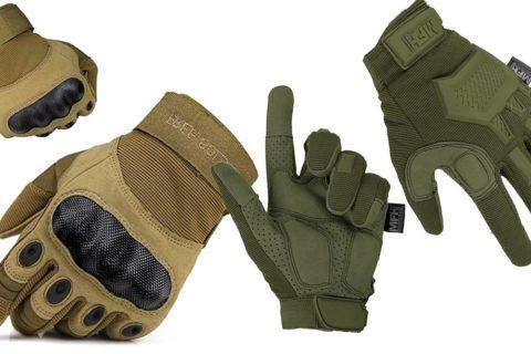 taktische Vollfinger Handschuhe