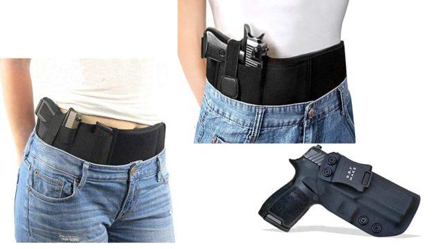 versteckte Pistolenhalfter